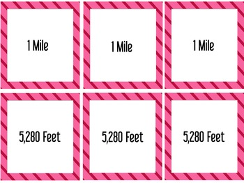 """""""Crazy Length"""" A Measurement Card Game for Customary Length Conversions"""