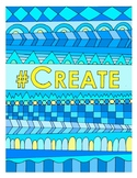 #Create DESIGN Coloring Page