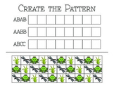 """Create the Pattern"" Worksheet"