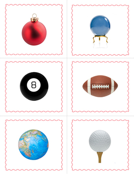 (Creative Curriculum) Balls BINGO and Matching Cards