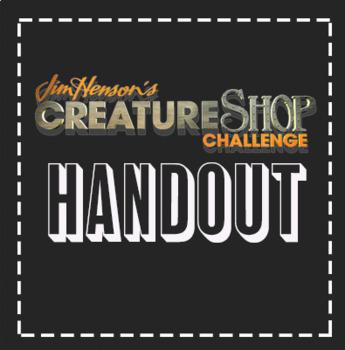 """Creature Shop"" Puppet Sub Handout and Lesson Plan"