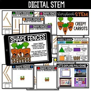 {Creepy Carrots} Storybook STEM