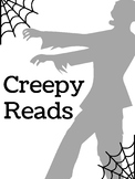 """Creepy Reads"" Halloween Book Display Poster"