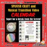 ¿Cual es la fecha de hoy? Musical Transition Video and Cal