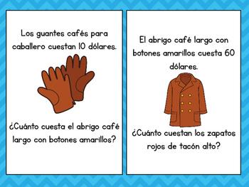 Spanish Speaking -¿Cuánto cuesta? ...Tienda de ropa