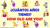 ¿Cuántos años tienes tú? / PPT. con audio