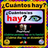 "¿Cuántos hay? Personalized and Specific HAY ""There is/there are"" Questions"