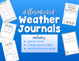{DIFFERENTIATED} Daily Weather Journals
