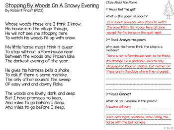 [DIGITAL CLASSROOM] Close Reading Poetry Through the Year: Grades 4-8