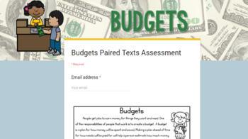 [DIGITAL CLASSROOM] Paired Texts Passages: Economics Grades 3-5