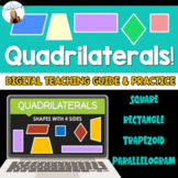 *DIGITAL* Quadrilaterals Google Slides Guide | Interactive