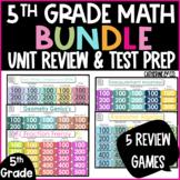 5th Grade Math Test Prep BUNDLE