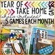Take Home Games THE BUNDLE; 60 Games for Home or School Use