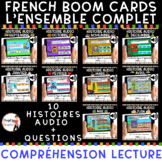 - DISTANCE LEARNING - French AUDIO Boom Card - HISTOIRE AU