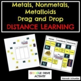 {DISTANCE LEARNING} Metals, Nonmetals, and Metalloids Interactive Card Sort