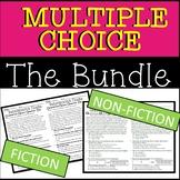 DISTRICT LICENSE Multiple Choice Reading Passages BUNDLE