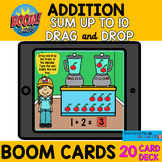 $$DOLLAR DEAL$$ ADDITION SUM UP TO 10  BOOM cards™