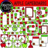 Apple Gameboards {Creative Clips Clipart}