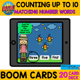 $$DOLLAR DEAL$$ COUNTING TO 10 TEN MATCHING NUMBER WORDS B