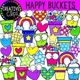 Happy Buckets {Creative Clips Clipart}