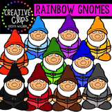 Rainbow Gnomes {Creative Clips Digital Clipart}