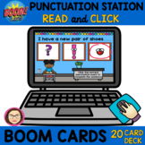 $$DOLLARDEAL$$ 20 PUNCTUATION STATION READ and CLICK BOOM Cards™