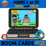 $$DOLLARDEAL$$ 20 VERB TENSES S or ES and CLICK BOOM Cards™