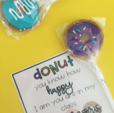 """DONUT"" TAGS back to school"