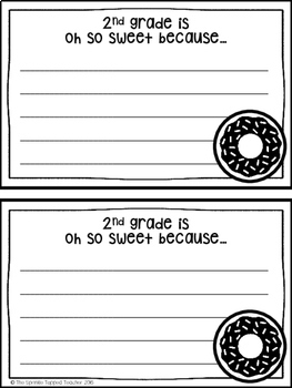 """""""DONUT"""" You Know __ Grade is the Best? Craftivity with Bulletin Board Set"""