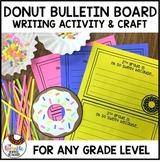 Donut Bulletin Board | Writing Activity