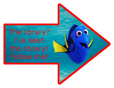 ~DOWNLOADABLE~ Finding Dory Directional Posters~ EDITABLE!!