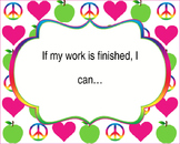 """~DOWNLOADABLE~""""IF I AM FINISHED..."""" bulletin board EDITABLE"""