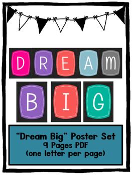 """DREAM BIG!"" Bulletin Board"