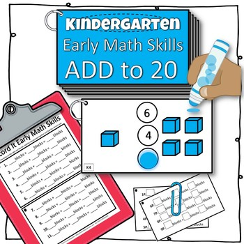 (Dab-it) Early Math Counting Booklets
