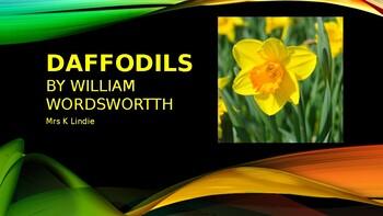 """""""Daffodils"""" - William Wordsworth"""