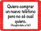 Spanish Subjunctive Quick Response Speaking Prompts