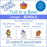 """Danger"" THE WHOLE ENCHILADA Boom Cards Bundle (Troll in a Bowl)"