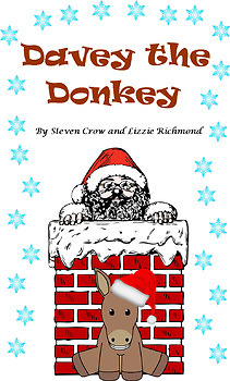 'Davey the Donkey' K-1st Grade Christmas show play script with sound effects