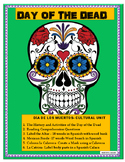 """Distance Learning-""""Day of the Dead"""" -Reading Comprehension"""
