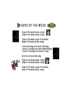 """Days of the Week"" Song Addams Family"