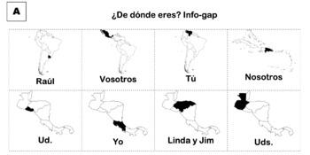 ¿De Dónde Eres? Info-Gap