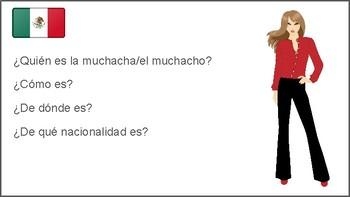 ¿De qué nacionalidad es?: picture-based assignment