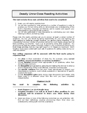 'Deadly Unna' Close Reading Activities