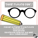 """Dear Future Self"": activity for goal setting, reflection,"