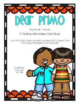"""Dear Primo"" A McGraw Hill Wonders Book Study"