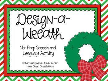 Design-A-Wreath: No-Prep Speech and Language Activity