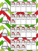 December Ten Frames, Subsitizing, Number Sense