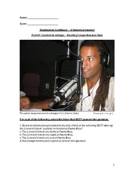 Carnival in Antigua – Reading Comprehension Quiz