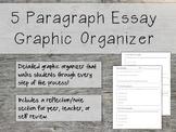 *Detailed* 5 Paragraph Essay Graphic Organizer