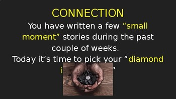 """""""Diamond in the Rough"""" Personal Narrative Writing Lesson (PowerPoint)"""